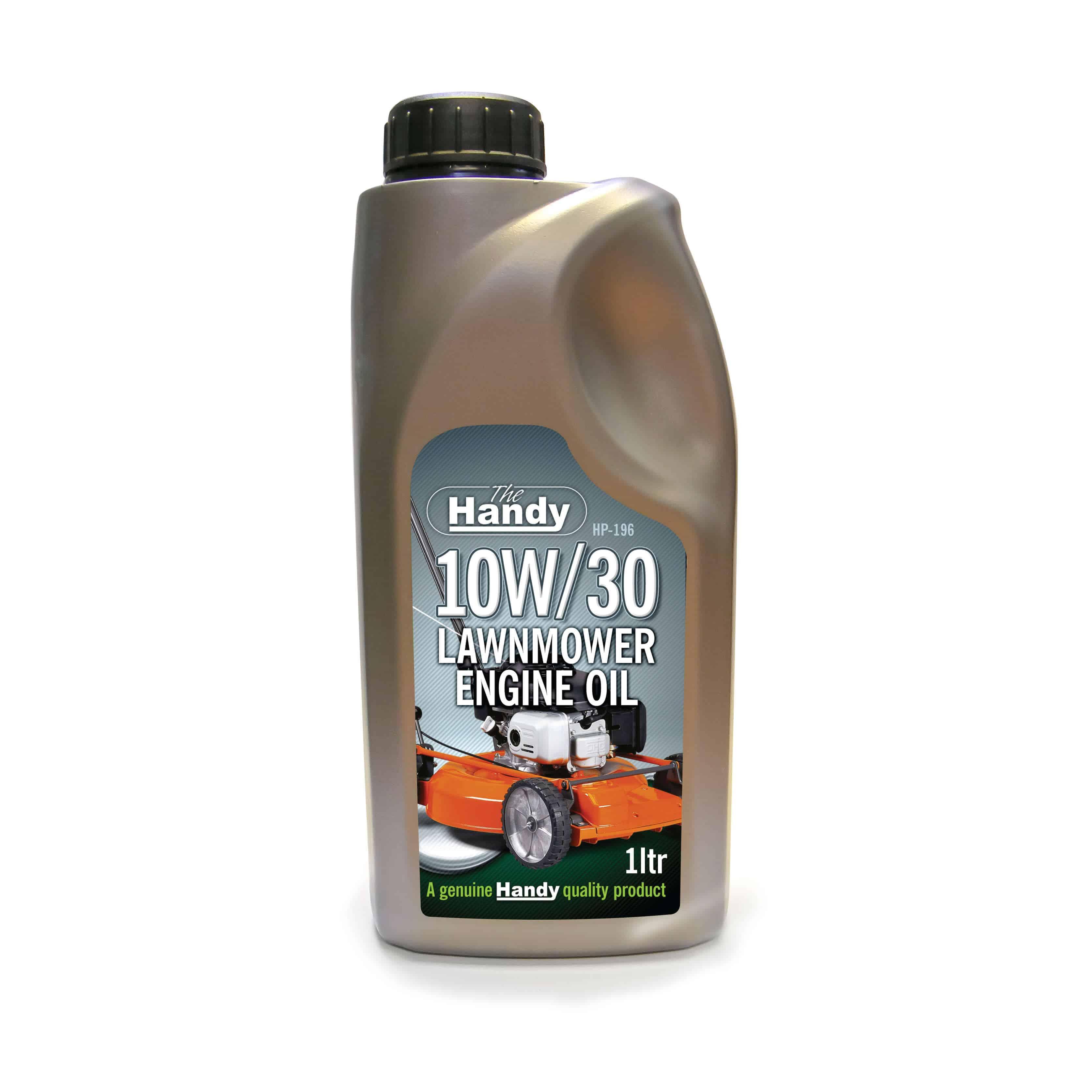 1 Ltr 10w 30 Lawnmower Engine Oil Handy Garden Machinery