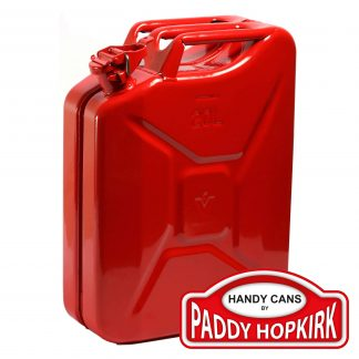 20 Litre Steel Jerry Can - Red