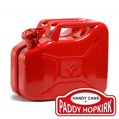 10 Litre Steel Jerry Can - Red