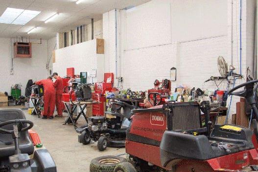 Our Workshop - Handy Garden Machinery