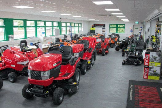 Sales Floor - Handy Garden Machinery