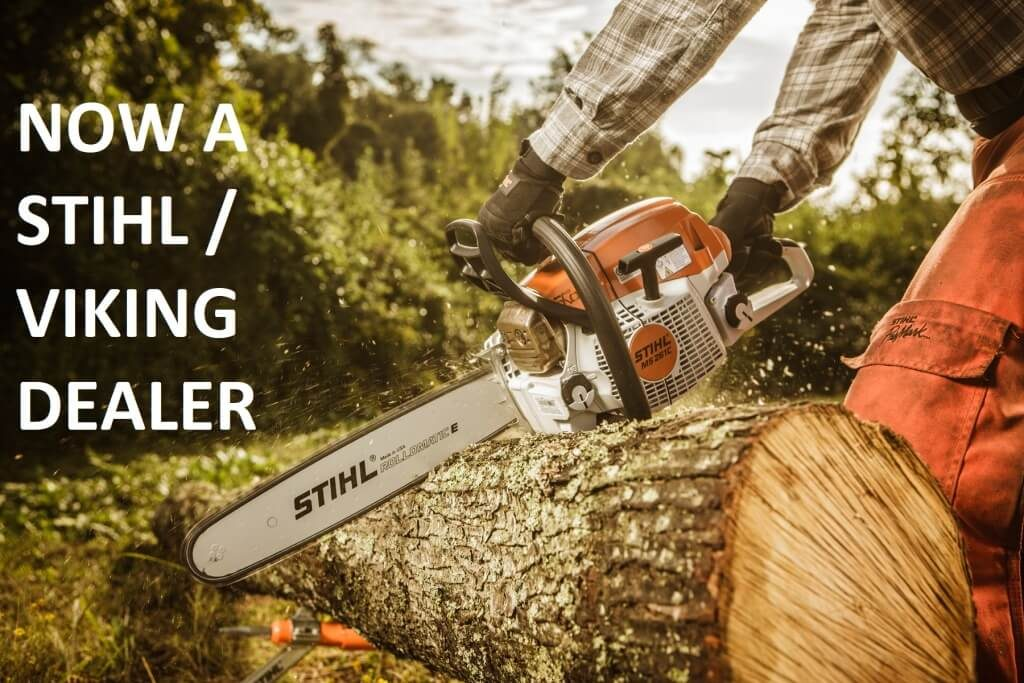 Now Stihl and Viking Dealers at Handy Garden Machinery